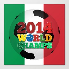 2014 World Champs Ball - Italy Canvas Print
