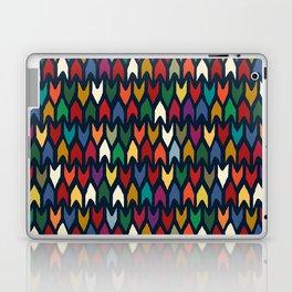 christmas arrows indigo Laptop & iPad Skin