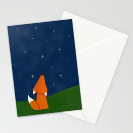 Looking up fox Stationery Cards