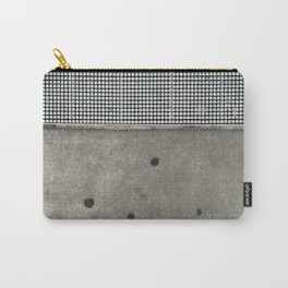 Cement Quilt Carry-All Pouch