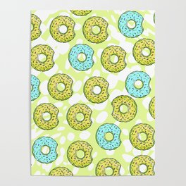 DONUTS AND DOTS DELICOUS DELIGHT Poster