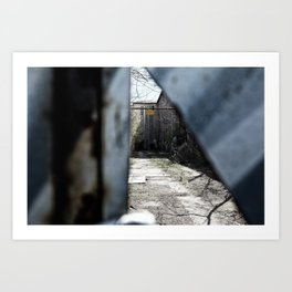 Belgrade / Secrets 02 Art Print