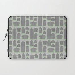 Birdcages (Gray) Laptop Sleeve