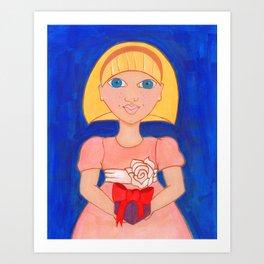 Suzie Q Art Print