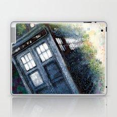 Dr. Who Tardis Laptop & iPad Skin
