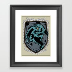 save the eagles Framed Art Print