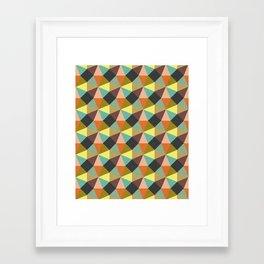 Simply Symmetry Framed Art Print