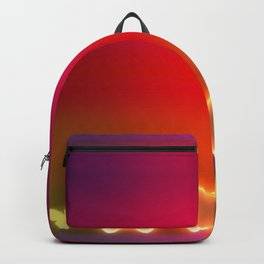 beautiful glows and gradations. Backpack