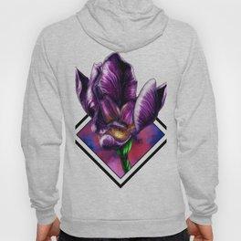 Purple Flora Hoody