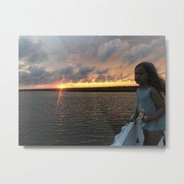Lela's Sunset Metal Print