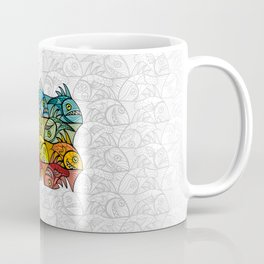 EscherFishes Coffee Mug