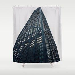 Hancock Tower Shower Curtain