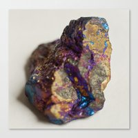 mineral Canvas Prints featuring Mineral  by Andrew Zellmer