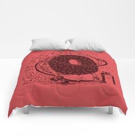 Donut Waste Water Comforters