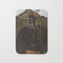 Egon Schiele - Landscape with Ravens Bath Mat