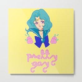 pretty gay michiru Metal Print