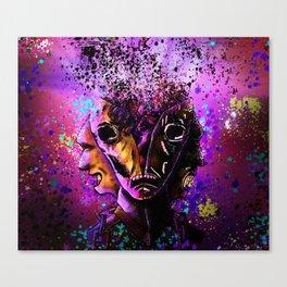 Split-Face Canvas Print