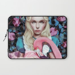 """Alice in Wonderland"" by Giulio Rossi Laptop Sleeve"