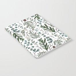 Pine and Eucalyptus Greenery Notebook
