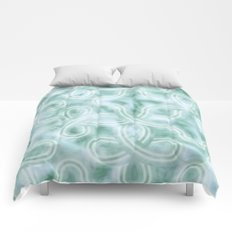 Knotty Abstract Comforters
