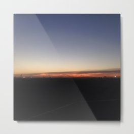 #221 #Fire in the #Horizon #ItsTime Metal Print