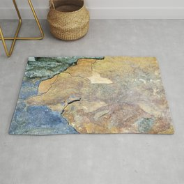 Abstract Stone Rug