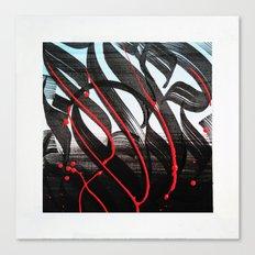 CalligrabstractArt Canvas Print