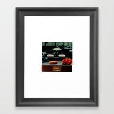 Sustained Release Framed Art Print