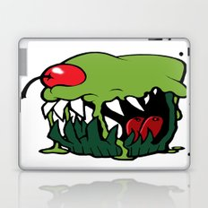 zombie cupcake Laptop & iPad Skin