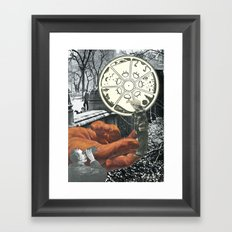 The Circle Never Ends Framed Art Print