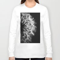 cafe Long Sleeve T-shirts featuring Sad Cafe by Brian Raggatt