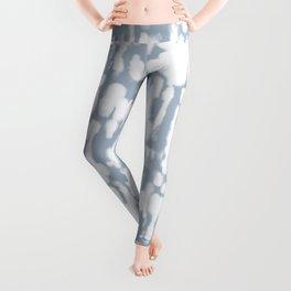Inky Inverse Slate Blue Leggings