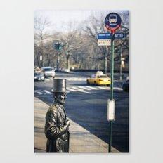 Abe's Bus Stop Canvas Print