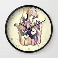 hug Wall Clocks featuring HUG by AMULET