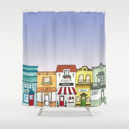 Shops Shower Curtain
