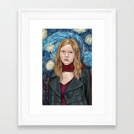 For Amy Framed Art Print