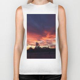 Wembley sunrise Biker Tank
