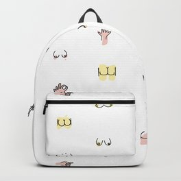 more butts and boobies Backpack