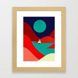Inlet Framed Art Print