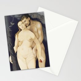 Adam and Eve by Hans Baldung, 1531 Stationery Cards