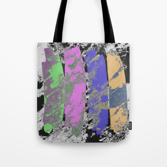 All 4 One - Abstract, textured artwork Tote Bag