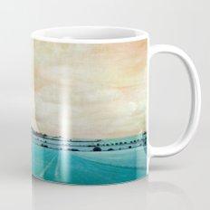 blue field Mug