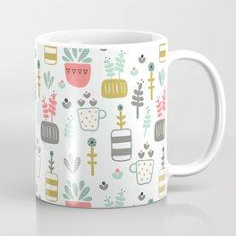 Little Succulent Pattern Coffee Mug