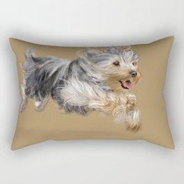 A Yorkie called Joy Rectangular Pillow