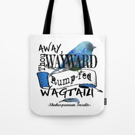 Rump-fed Wagtail Tote Bag