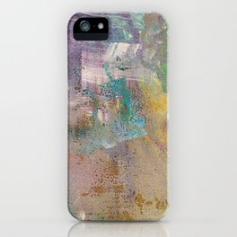 Abstract Y (Monoprint) iPhone Case