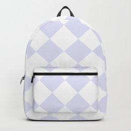 HARLEQUIN (LAVENDER & WHITE) Backpack
