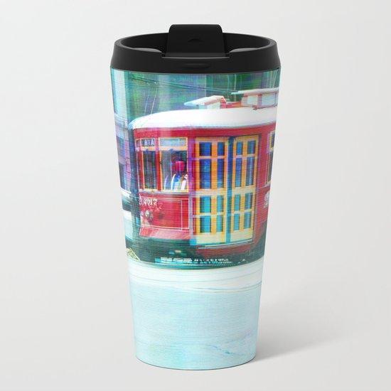 Streetcar on Canal Street Metal Travel Mug