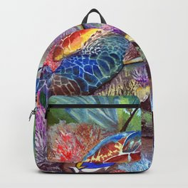 Journey Under the Sea Part 1 by Maureen Donovan Backpack