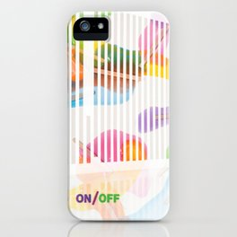 _ON/OFF iPhone Case